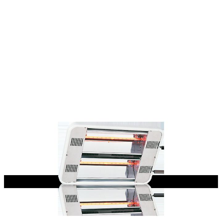 Chauffage Longue portée à faisceau orientable IRC-3000W